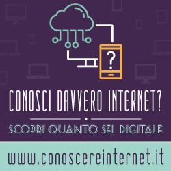 Vai al sito di Conoscere Internet